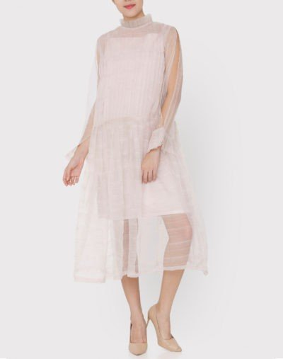 Organza Dress with Inners